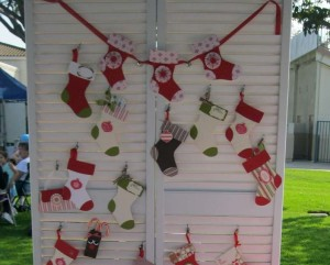 christmas stocking giftcard holders